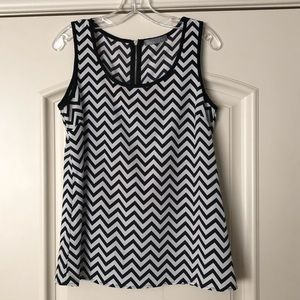 Olivia Moon Chevron Dress Tank
